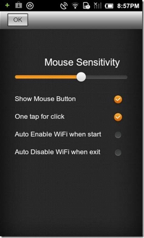 android cursor mouse server turn your android device into a mouse keyboard for mac