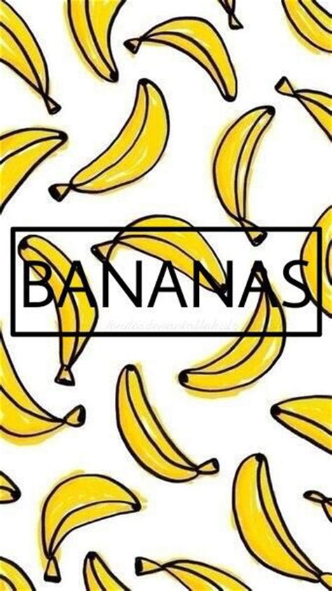 wallpaper banana for iphone wallpaper iphone banana fondos de pantalla pinterest