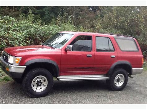 1992 toyota 4runner sr5 v6 automatic 4x4 central saanich