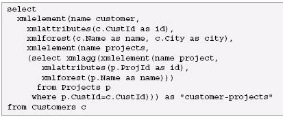 xml pattern value sql xml tutorial