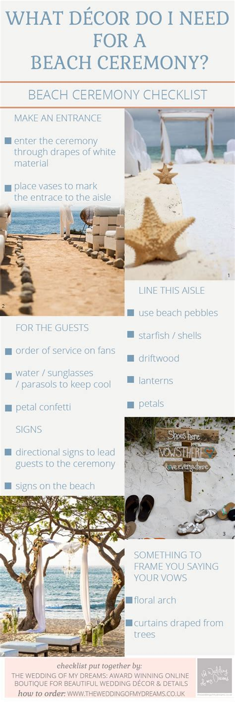 6 Wedding Checklist Templates for Rustic, Beach and