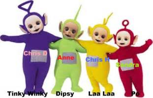 Teletubby characters movies in theaters