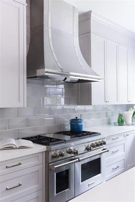 gray kitchen backsplash gray beveled kitchen backsplash tiles with