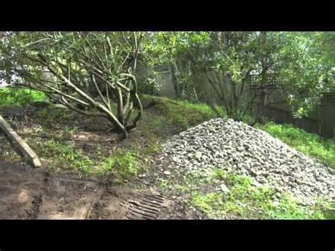 How To Level Backyard Slope by Leveling Areas In A Sloping Backyard