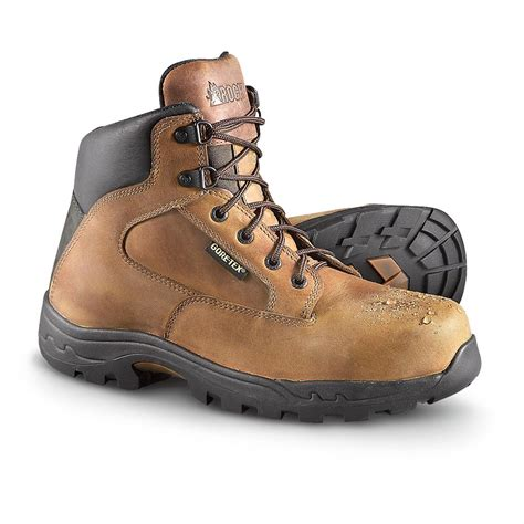 s rocky 174 6 quot pro light tex 174 hiking boots brown