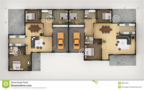 top view floor plan floor plan stock illustration image of furniture estate