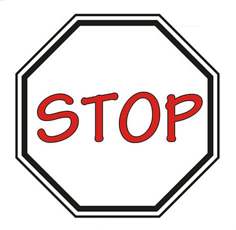 stop sign template free 2016 outline for time i the scriptures are