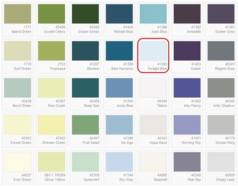 ici paint colors daine auman s ici dulux paint color chart