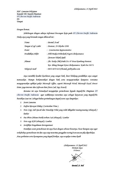 contoh surat lamaran kerja supir cv lamaran kerja supir pinterest the world s catalog of ideas
