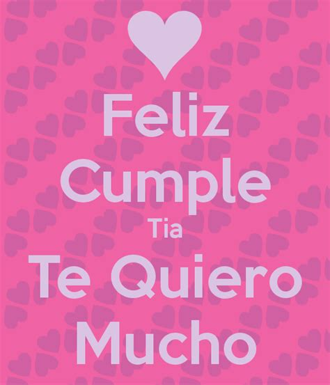 imagenes bonitas de feliz cumpleaños tia feliz cumple tia te quiero mucho poster marcyayala104