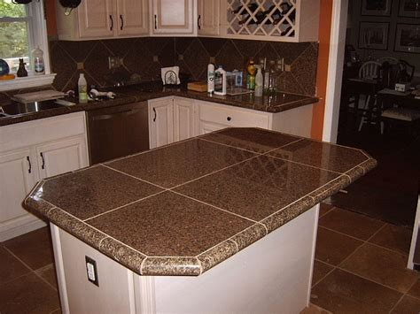 kitchen countertop tiles ideas 17 best ideas about granite tile countertops on