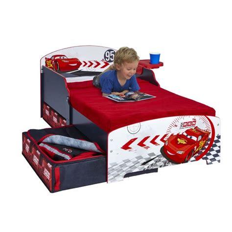 Lit Cars But by Cars Lit Enfant Avec Rangements 70 X 140 Cm Achat
