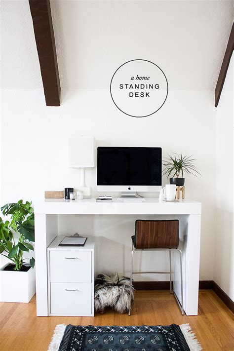new year new office with a standing desk copycatchic