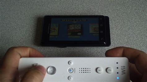 wiimote android wiimote controller utiliza el mando de la wii para jugar en tu android