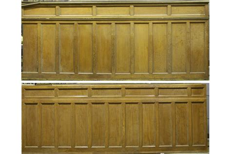 Wainscoting For Sale Seventeen Pieces Of Oak And Mahogany Panels Wainscoting