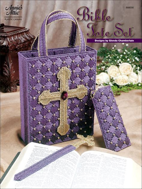 pattern for bible tote bag plastic canvas bookmark patterns bible tote set