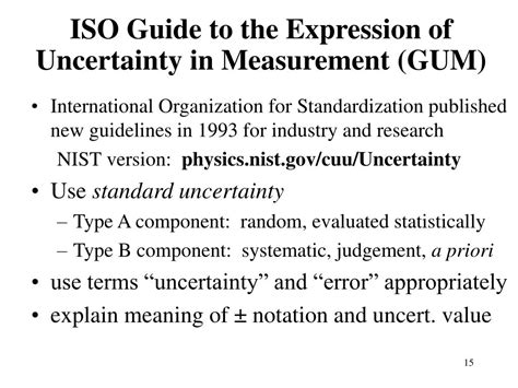 Ppt An Introduction To Measurement Uncertainty And Error