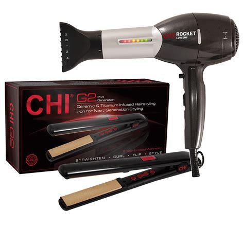 Chi Rocket Hair Dryer chi rocket hair dryer with g2 hairstyling iron 1 inch farouk cosmoprof