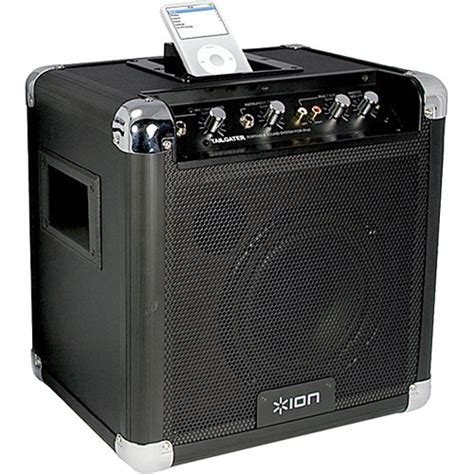 best ipod dock sound system ion audio tailgater portable pa system with ipod dock