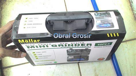 Promo Mata Bor Besi Mollar Isi 19 Pcs Original jual mini die drill bor mini bor tangan mesin potong