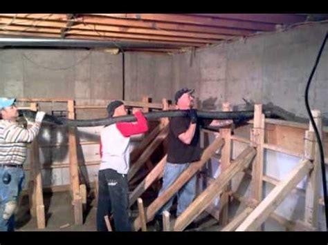 crawl space basement conversion denver youtube
