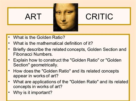 golden section art definition golden ratio tasks paper