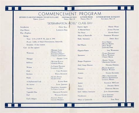 Commencement Program Boostsoftware Graduation Ceremony Program Sle