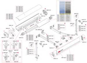 fiamma f65 awning caravansplus spare parts diagram fiamma f65 s 260 400