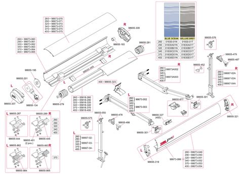 fiamma awning parts caravansplus spare parts diagram fiamma f65 s 260 400