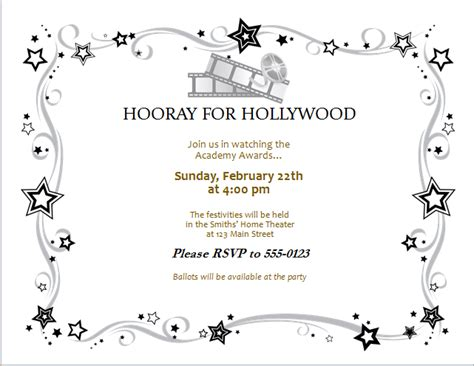 invitation card template word document award invitation card editable ms word