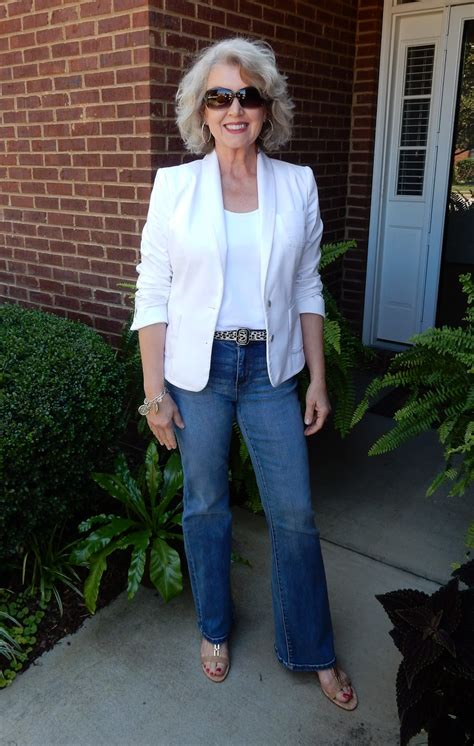 cute clothes for 60yr old fifty not frumpy flare leg jeans