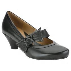 Clarks Shoes Clarks Azure Blossom Black Court Shoes Clarks From