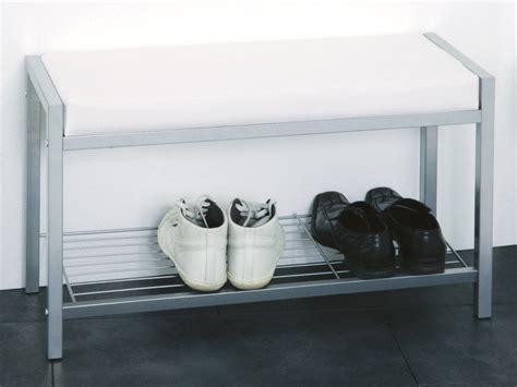 white shoe rack bench enya white shoe rack bench 90350