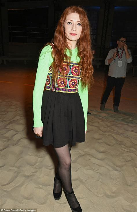Nicola Roberts in embroidered dress at the House Of ... Nicola Roberts Fashion