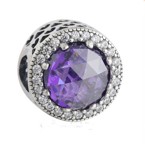 Pandora Radiant Hearts With Royal Purple And Clear Cz Ch P 751 purple radiant hearts charm 925 sterling silver clear cz bead fits pandora