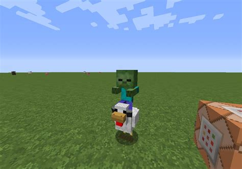how to a in minecraft how to spawn a chicken jockey in minecraft vanilla minecraft