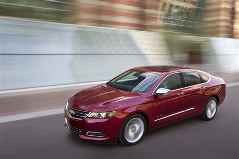 2016 chevy impala price grows slightly gm authority