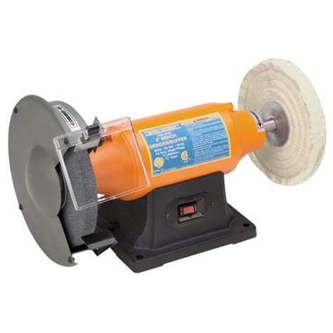 bench grinder buffer 8 quot 3 4 hp low vibration 3600 rpm