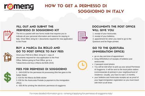 permesso di soggiorno italy how to get a permesso di soggiorno in italy romeing