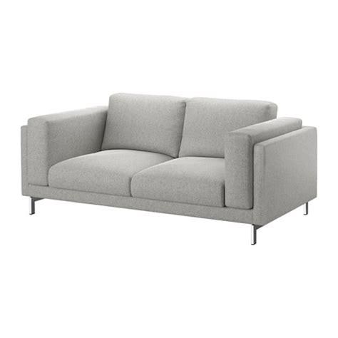 nordstrom furniture sofa nockeby loveseat tallmyra white black chrome plated ikea