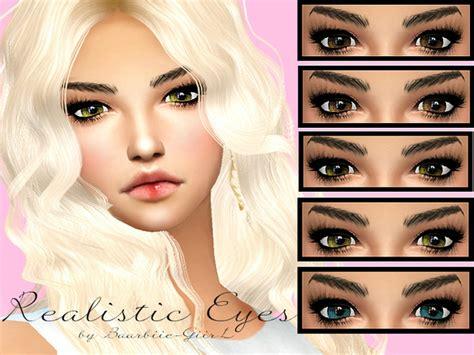 sims 4 realistic eyes baarbiie giirl s realistic eyes sims 4 updates sims
