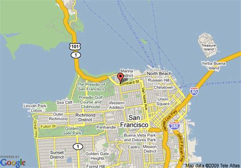 hotels in san francisco map 8 motel san francisco fishermans wharf area san