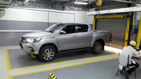 Toyota Trucks 2016 2016 Toyota Hilux Truck Spied Completely