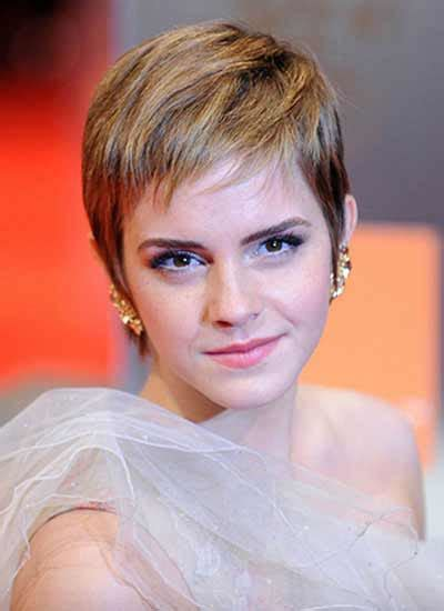 Emma Watson's Perky Pixie Cut