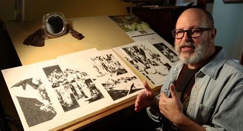 Biggest Desk In The Studio Where Hellboy Is Made Mike Mignola Says