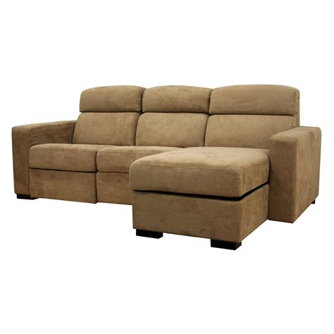 Recliner And Chaise sectional sofa with chaise recliner and sleeper