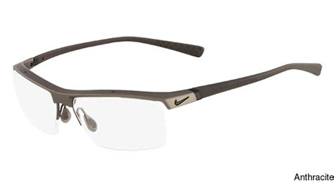 buy nike 7071 1 semi rimless half frame prescription