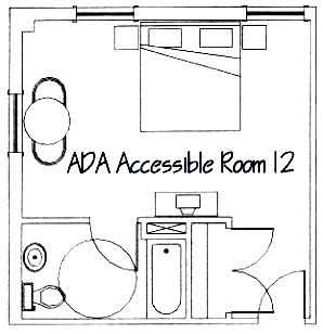 disabled hotel room layout undergraduate research journal for the human sciences