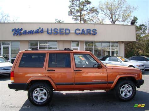 jeep cherokee fire 2001 amber fire pearl jeep cherokee sport 61761502