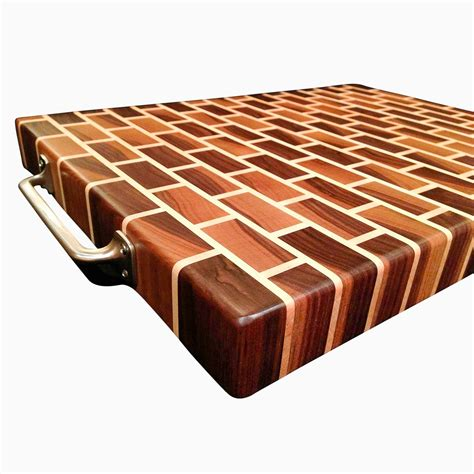 unique cutting boards buy a hand crafted black walnut and rock maple end grain